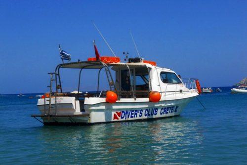 crete boat diving